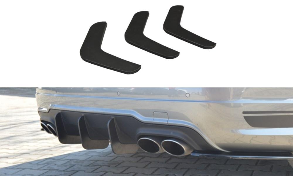 Dyfuzor Tylny Mercedes C-Class W204 AMG-Line Polift V.2 - GRUBYGARAGE - Sklep Tuningowy